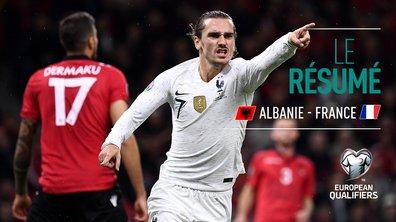 Albanie - France : Voir le résumé du match en vidéo