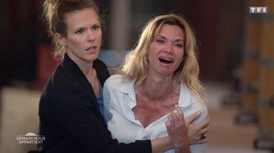 Demain nous appartient - La police retrouve le corps sans vie de Martin, Chloé fond en larmes