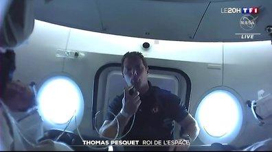 Retour à bord de l'ISS : la folle journée de Thomas Pesquet.