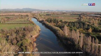 Retour à Roquebrune-sur-Argens un an après les inondations
