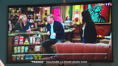 """Retrouvailles des héros de """"Friends"""" : les fans se régalent"""
