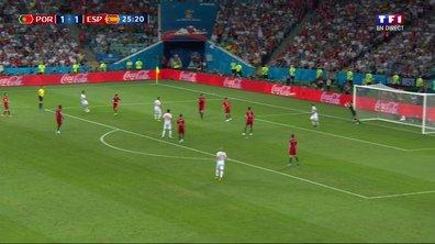VIDÉO - Portugal-Espagne : la goal line technology utilisée après la frappe d'Isco