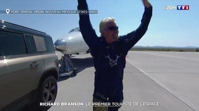 Richard Branson : le premier touriste de l'espace