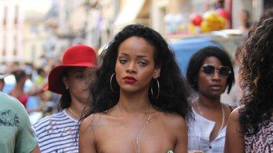 Rihanna : Sexy en plein shopping dans les rues de St Tropez ! (Photos)