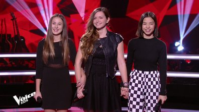 The Voice Kids 6 - BATTLES (Jenifer) : Qui de Lola, Aelwenn ou Nayana a gagné ? (REPLAY)