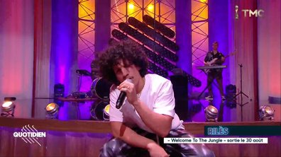 "Rilès : ""Myself N the sea"" en live pour Quotidien"