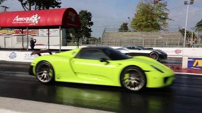 Vidéo : Rimac Concept_One contre Porsche 918 Spyder, qui gagne ?