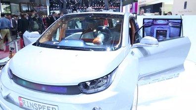 Rinspeed Budii, le concept-car autonome et fun du Salon de Genève
