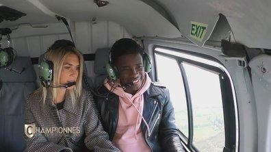 Championnes – Hélicoptère, nuit au château et golf… Elodie surprend son mari Rio Mavuba