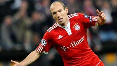 Transferts : L'Inter Milan rêve de Robben et d'Ozil