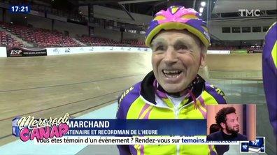 Mercredi Canap : Robert Marchand, le héros prend sa retraite