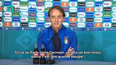 Donnarumma au PSG, « un bon choix » pour Roberto Mancini