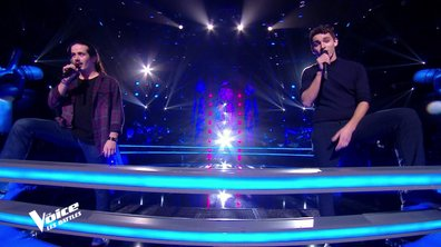 The Voice 2021 – Robin Baron VS Tarik chantent « Deviens génial » de Vald