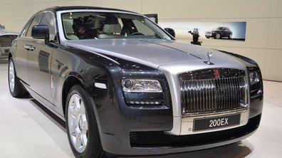 Genève 2009 : Rolls Royce 200 EX, ou le luxe à moindre coût