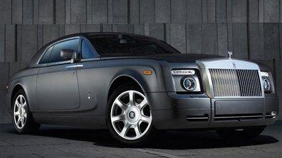 Genève 2009 : Rolls-Royce Phantom : léger restylage
