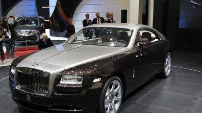 Salon de Genève 2013 - Live : Rolls Royce Wraith, la sportive raffinée