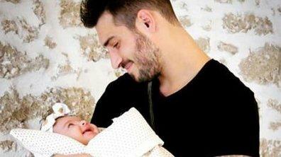 Romain Affortit est un papa comblé et il le dit !