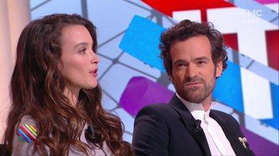 Romain Duris et Charlotte Le Bon jouent à un drôle de jeu