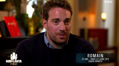 Découvrez Romain, nouvel aventurier de l'émission (VIDEO)