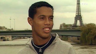 Les archives de Téléfoot : Ronaldinho au PSG