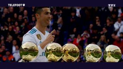 """[EXCLU Téléfoot 10/12] - Ballon d'Or 2017 / Cristiano Ronaldo : """"Je n'avais jamais rêvé de gagner cinq fois ce trophée et d'atteindre ce niveau"""""""