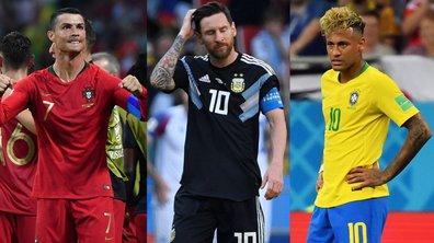 Ronaldo, Messi et Neymar, le match qu'ils se livrent à distance !