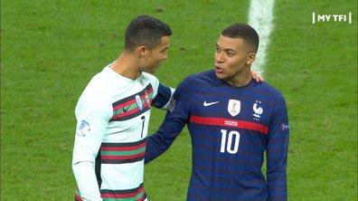 France - Portugal (0 - 0) : Mais que dit Ronaldo à Mbappé ?