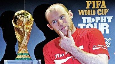 Rooney accueille le Trophée à Londres