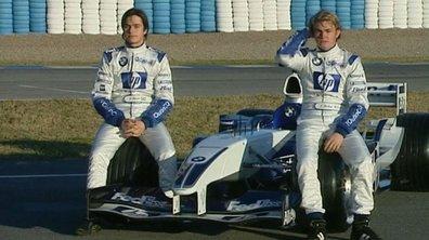 Archive Automoto : les fils Rosberg et Piquet en essais à Jerez