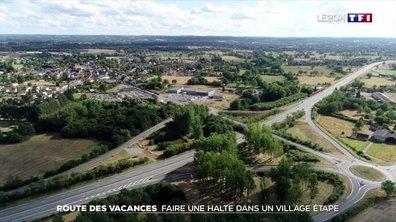 Route des vacances : une halte dans un village étape
