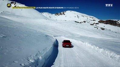 Les Routes Extraordinaires : La plus haute d'Europe en Hyundai I30 N !