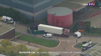 Royaume-Uni : 39 corps retrouvés dans la remorque d'un camion