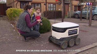 Royaume-Uni : l'utilisation des robots se multiplie en raison du Covid-19