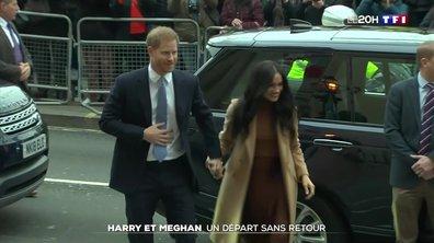 Royaume-Uni : le prince Harry et Meghan Markle renoncent à leurs titres royaux