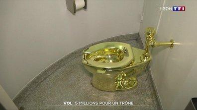 Royaume-Uni : le WC en or massif de l'artiste italien Maurizio Cattelan volé dans un palais