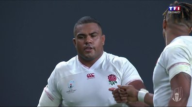 L'Angleterre confirme son statut de favori (35-3)
