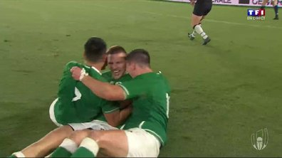 Le XV irlandais, tout simplement efficace (27-3)