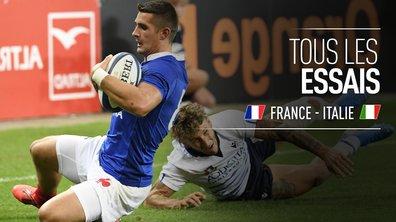 France - Italie : Voir tous les essais du match en vidéo