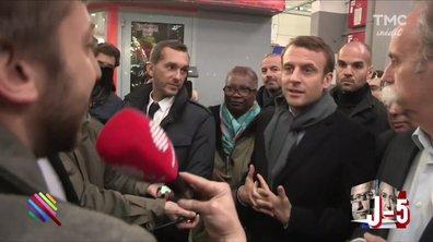 """""""La France qui travaille"""" de Rungis et Macron : un amour réciproque... ou pas..."""