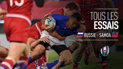 Russie - Samoa : Voir tous les essais du match en vidéo