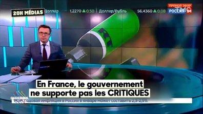 20H Medias - Le clash entre l'Elysée et la chaîne RT vire à la crise diplomatique