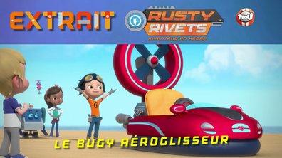Le petit génie en a dans la tête : un superbe Bugy aéroglisseur plus puissant que jamais !
