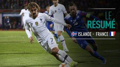 Islande - France : Voir le résumé du match en vidéo