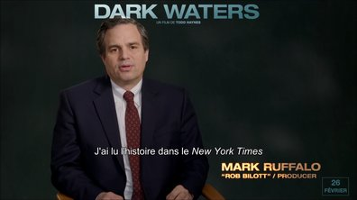 Featurette DARK WATERS – Activisme