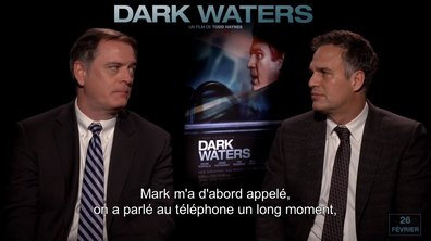 Interview DARK WATERS – Mark Ruffalo, Anne Hathaway et Robert Bilott