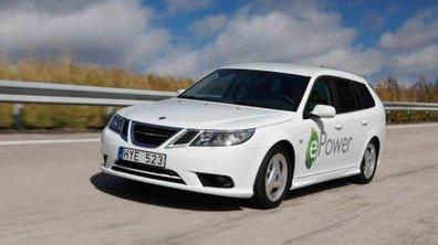 Mondial de l'Auto 2010 : Saab 9-3 ePower, le concept électrique de Saab