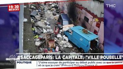 #SaccageParis : les internautes s'insurgent contre l'insalubrité des rues de la capitale