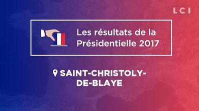 Saint-Christoly-de-Blaye (33920) : les résultats de la Présidentielle 2017