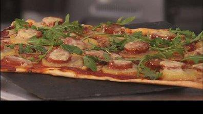 Pizza auvergnate