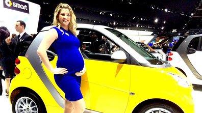 Salon de Détroit 2014 : Smart fait le buzz avec son hôtesse enceinte